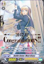 "1x ""CONGRATULATIONS"" Battle Sister, Mont Blanc - Cardfight Vanguard MINT Promo"