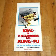 KING: IL MASSACRATORE DEL KUNG-FU locandina poster Tarng Long Ou Yang Jong AH59