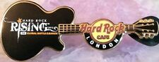 Hard Rock Cafe LONDON 2012 GLOBAL RISING GUITAR Battle of the Bands PIN #66184