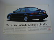 advertising Pubblicità 1992 HONDA CIVIC ESi