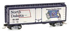 N Scale Micro-Trains North Dakota State Car - Road Number ND 1889