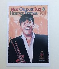 6 2010 NEW ORLEANS JAZZ HERITAGE FESTIVAL FEST LOUIS PRIMA POSTER CARD POSTCARD