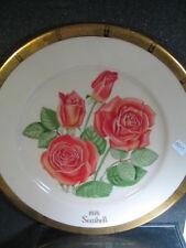 Gorham 1975  All American Rose Ltd SEASHELL  Rose Ltd Ed plate MIB
