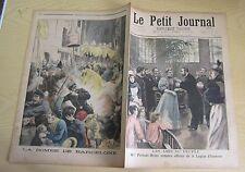 Le petit journal 1896 292 Attentat en Espagne : La bombe de Barcelone