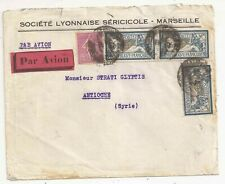 France air mail to Syria 1929