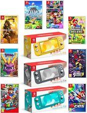 Nintendo Switch Lite 32GB Consola De Video Juego Portátil Con De Juego Paquete Choice