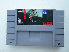 Cliffhanger (Super Nintendo SNES, 1993) Game Only--Tested (NTSC)