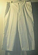 Covington Size 16 Comfy White Cropped Pants
