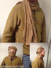 U.S Military Issue Army / USMC Coyote Cotton Knit Neckerchief Balaclava Bandana