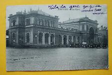 AK Trier 1924 Bahnhof Autos Oldtimer Gebäude Architektur Hausansicht +++ RP8
