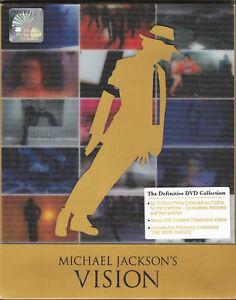 MICHAEL JACKSON Vision The Definitive Collection NTSC 3DVD + 3D LENTICOLARE...