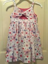 Girls Kids 6/6X Dress Sundress Cut Out Back Multi-Color Spring/Summer Blueberi