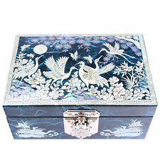 Jewelry boxes Mother Of Pearl Wedding Gift ideas Boxes Craftsman 1003Blue