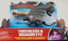 Dragons Ohnezahn Toothless mit Zubehör, Drachenreiter von Berk, NEU/OVP