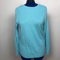J. Jill Women's Size Small Light Blue Sweater  Long Sleeve