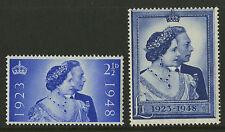 Great Britain   1948   Scott # 267-268    Mint Never Hinged Set