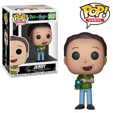 Jerry Rick and Morty Funko Pop Official Funko Vinyl Figure Toy Collectables