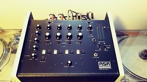 Vintage ASR DMX-3 Rotary 4 Channel Analog DJ Mixer