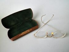 Antique American Optical AO 12KGF Eyeglasses Spectacles with Case