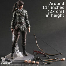 Rise of Tomb Raider Lara Action Figure Toy 3D Hot Play Arts Kai Croft PVC Statue