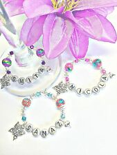 1 PERSONALISED BUTTERFLY WINE GLASS CHARM  BIRTHDAY GIFT /PROM NIGHT / HEN PARTY