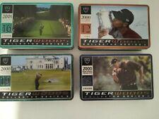 "New listing Tiger Woods Career ""GRAND SLAM"" Nike Collector's Series Golf Balls 4 Tin Set"