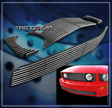 UPPER+BUMPER BILLET GRILLE COMBO FOR 2005-2009 FORD MUSTANG GT V8 2006 2007 2008