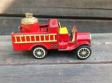 Vintage Tin Friction Fire Pump Truck - Made in Japan - Cragstan ?