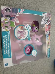 My Little Pony The Movie Twilight Sparkle & Spike the Dragon Friendship Duet