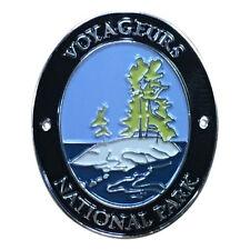 Voyageurs National Park Walking Hiking Stick Medallion - Waterways and Islands