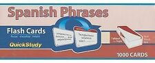 Spanish Phrases Flash Cards by BarCharts