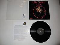 Willie Nelson LIVE Gotta Get Drunk 1976 1st EXC Press ULTRASONIC CLEAN