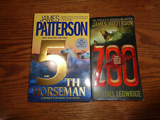2 James Patterson - Softcover Books - Zoo & 5th Horseman