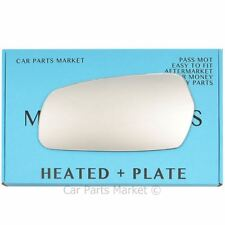 Left side Flat Wing door mirror glass for Kia Magentis 2006-2010 heated + plate