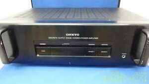 ONKYO Power Amplifier Tube Type M-501 Audio Equipment 1996 Vintage