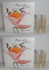 Quelques Fleurs Houbigant L' Original EDP sample vial x 4