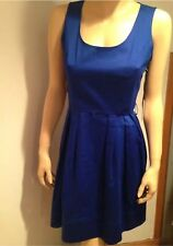 NWT Calvin klein blue sleeveless scoop neck dress $119 size 10p