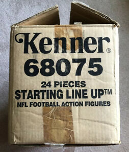 1993 Starting Lineup NFL Football Factory Case 24 Figures New All Figures Sealed