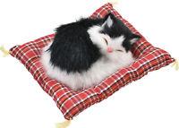 KandyToys 13CM Katzen Leben Auf Decken - TY1733 Fell Deko Tisch Haustier