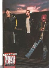 NIRVANA Kerrang Klassik magazine PHOTO / mini Poster 11x8""