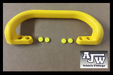 1 x Large Steel Core Yellow Grab Pull Handle Trailer Horsebox Taxi Bus Tractor