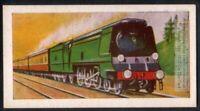 1941 Southern Railway Pacific Type Locomotive Train Engine 60+ Y/O Trade Ad Card