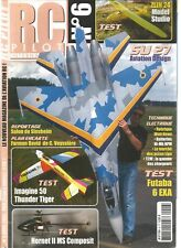 RC PILOT N°06 ZLIN 24 MODEL STUDIO / SU 27 AVIATION DESIGN / HORNET II MS COMPOS
