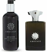 Amouage Memoir Man Gift Set - Memoir Eau de Parfum Spray 100ml + Memoir Shower G