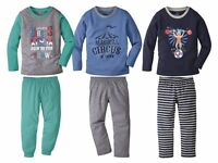 Boys' Pyjamas 1 2 3 4 5 6 Age Long Sleeve Trousers suitable for tumble drying