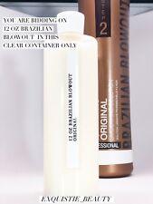 Brazilian Blowout Original Professional Solution Step 2 (12 oz) in Clear bottle