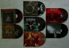 BLACK DEATH METAL 7CD Enslaved Nile Vile Ripping Corpse Thantifaxath Iced Earth