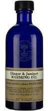 Neal's Yard Remedies Ginger & Juniper Warming Oil 100ml. BBE 02/20