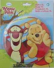 XL Winnie Pooh/ Puuh + Tigger Button * Pin * ca. 14 cm * Disney * Deko Bild*OVP
