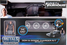Fast and Furious Doms Dodge Charger R/t With Toretto Figure Kit 30698